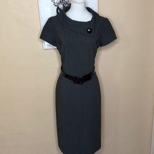 "EUC Tahari ""Jackie O"" style dress with belt"